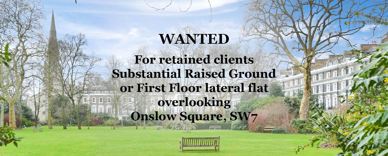 Flat Onslow Square London